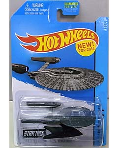 MATTEL HOT WHEELS 1/64スケール 2014 HW CITY STAR TREK INTO DARKNESS U.S.S. VENGEANCE