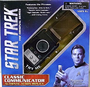 DIAMOND SELECT STAR TREK THE ORIGINAL SERIES CLASSIC COMMUNICATOR ワケアリ特価