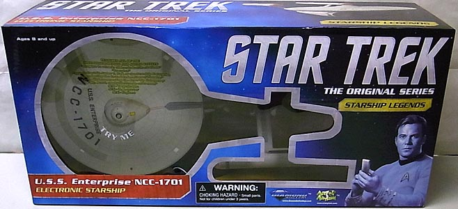 DIAMOND SELECT STAR TREK THE ORIGINAL SERIES STARSHIP LEGENDS U.S.S. ENTERPRISE NCC-1701 パッケージ傷み特価