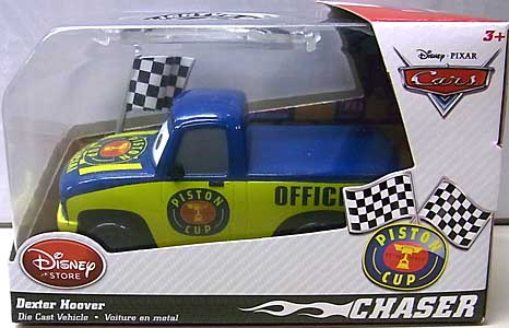 CARS 2014 USAディズニーストア限定 ダイキャストミニカー CHASER DEXTER HOOVER