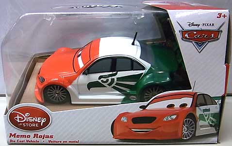 CARS 2014 USAディズニーストア限定 ダイキャストミニカー MEMO ROJAS