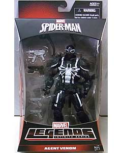 HASBRO MARVEL LEGENDS 2014 INFINITE SERIES SPIDER-MAN WALGREENS限定 AGENT VENOM パッケージ傷み特価
