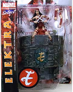 DIAMOND SELECT MARVEL SELECT ELEKTRA パッケージ傷み特価