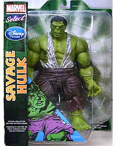 DIAMOND SELECT MARVEL SELECT USAディズニーストア限定 SAVAGE HULK