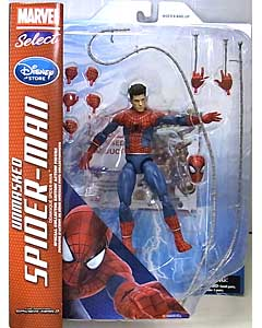 DIAMOND SELECT MARVEL SELECT USAディズニーストア限定 映画版 THE AMAZING SPIDER-MAN 2 SPIDER-MAN [UNMASKED]