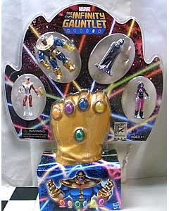 2014年 サンディエゴ・コミコン限定 HASBRO MARVEL UNIVERSE THE INFINITY GAUNTLET 4PACK