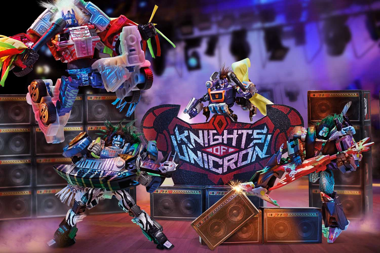 2014年 サンディエゴ・コミコン限定 HASBRO TRANSFORMERS KNIGHTS OF UNICRON SET
