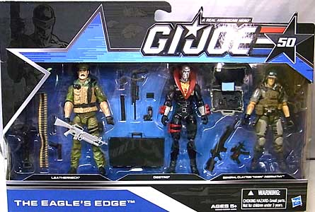 HASBRO G.I.JOE 50TH ANNIVERSARY 3PACK THE EAGLE'S EDGE