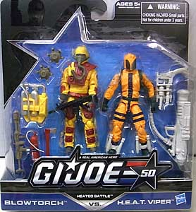 HASBRO G.I.JOE 50TH ANNIVERSARY 2PACK HEATED BATTLE 台紙傷み特価
