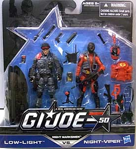 HASBRO G.I.JOE 50TH ANNIVERSARY 2PACK NIGHT MARKSMEN