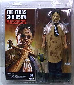 NECA THE TEXAS CHAINSAW MASSACRE 8インチドール LEATHERFACE