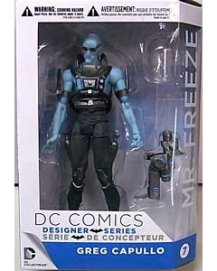 DC COLLECTIBLES DC COMICS DESIGNER SERIES GREG CAPULLO MR. FREEZE パッケージ傷み特価