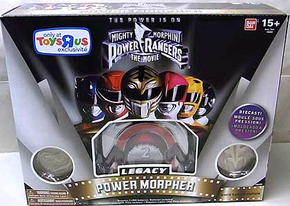 USA BANDAI POWER RANGERS MIGHTY MORPHIN USA TOYSRUS限定 LEGACY POWER MORPHER WHITE RANGER EDITION