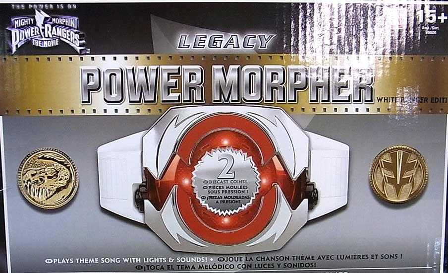 USA BANDAI POWER RANGERS MIGHTY MORPHIN USA TOYSRUS限定 LEGACY POWER MORPHER WHITE RANGER EDITION