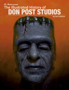 THE ILLUSTRATED HISTORY OF DON POST STUDIOS 傷み特価