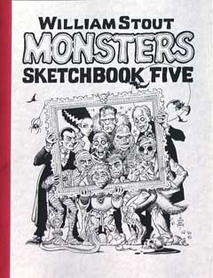 WILLIAM STOUT MONSTERS SKETCH BOOK VOL.5