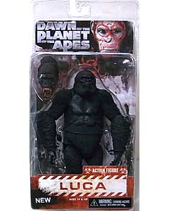 NECA DAWN OF THE PLANET OF THE APES 7インチアクションフィギュア シリーズ2 LUCA
