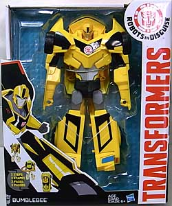 HASBRO アニメ版 TRANSFORMERS ROBOTS IN DISGUISE VOYAGER CLASS BUMBLEBEE