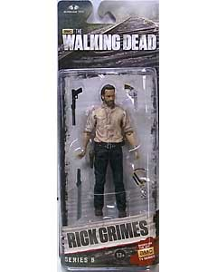 McFARLANE TOYS THE WALKING DEAD TV 5インチアクションフィギュア SERIES 6 RICK GRIMES 在庫処分特価