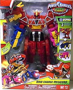 USA BANDAI POWER RANGERS DINO CHARGE DINO CHARGE MEGAZORD パッケージ傷み特価