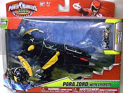 USA BANDAI POWER RANGERS DINO CHARGE PARA ZORD WITH CHARGER