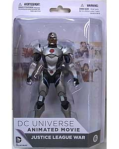 DC COLLECTIBLES DC UNIVERSE ANIMATED MOVIE JUSTICE LEAGUE WAR CYBORG