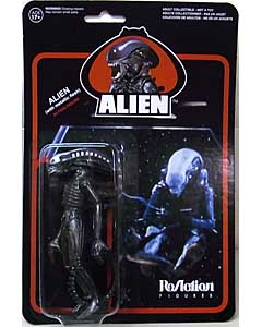 FUNKO x SUPER 7 REACTION FIGURES 3.75インチアクションフィギュア ALIEN THE ALIEN [METALLIC]
