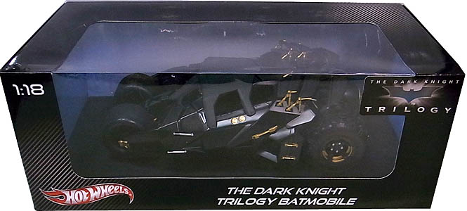 MATTEL HOT WHEELS 1/18スケール 映画版 THE DARK KNIGHT TRILOGY BATMOBILE