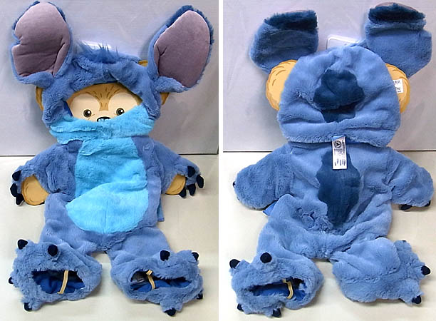 DISNEY USAディズニーテーマパーク限定 DUFFY THE DISNEY BEAR COSTUME [STITCH]
