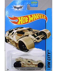MATTEL HOT WHEELS 1/64スケール 2014 HW CITY THE DARK KNIGHT TRILOGY THE TUMBLER CAMOUFLAGE VERSION #063