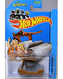 MATTEL HOT WHEELS 1/64スケール 2014 HW CITY THE FLINTSTONES THE FLINTMOBILE #083