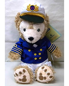 DISNEY USAディズニーテーマパーク限定 DUFFY THE DISNEY BEAR 12INCH DISNEY CRUISE LINE CAPTAIN DUFFY THE DISNEY BEAR