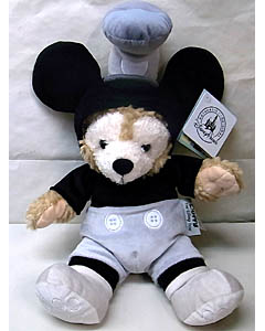 DISNEY USAディズニーテーマパーク限定 DUFFY THE DISNEY BEAR 12INCH STEAMBOAT WILLIE DUFFY THE DISNEY BEAR