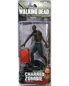 McFARLANE TOYS THE WALKING DEAD TV 5インチアクションフィギュア SERIES 5 CHARRED ZOMBIE