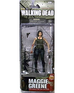McFARLANE TOYS THE WALKING DEAD TV 5インチアクションフィギュア SERIES 5 MAGGIE GREENE 台紙傷み特価