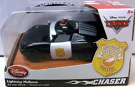 CARS 2014 USAディズニーストア限定 ダイキャストミニカー CHASER LIGHTNING McQUEEN [POLICE]