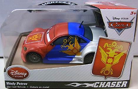 CARS 2014 USAディズニーストア限定 ダイキャストミニカー CHASER VITALY PETROV