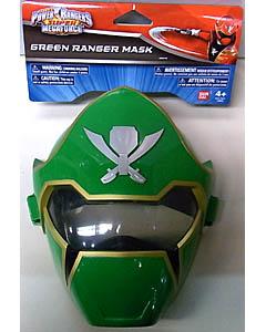 USA BANDAI POWER RANGERS SUPER MEGAFORCE GREEN RANGER MASK