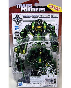 HASBRO TRANSFORMERS GENERATIONS DELUXE CLASS MINI-CON ASSAULT TEAM [COMIC BOOK INCLUDED]