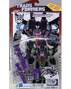 HASBRO TRANSFORMERS GENERATIONS DELUXE CLASS SKYWARP [COMIC BOOK INCLUDED]