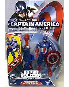 HASBRO 映画版 CAPTAIN AMERICA: THE WINTER SOLDIER 3.75インチ SUPER SOLDIER GEAR SHOCKWAVE BLAST CAPTAIN AMERICA ブリスターハガレ特価