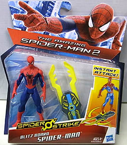HASBRO 映画版 THE AMAZING SPIDER-MAN 2 3.75インチ BLITZ BOARD SPIDER-MAN