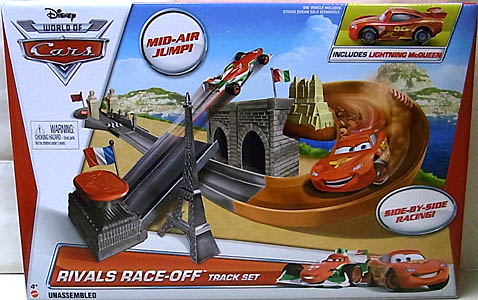MATTEL CARS 2014 RIVALS RACE-OFF TRACK SET