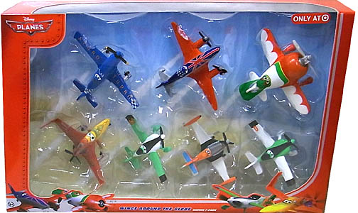 MATTEL PLANES WINGS AROUND THE GLOBE 7-PACK [ARTURO入り]
