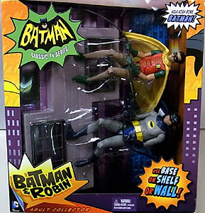 MATTEL BATMAN CLASSIC TV SERIES 6インチアクションフィギュア BATMAN & ROBIN 2PACK