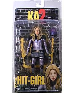 NECA KICK-ASS 2 7インチアクションフィギュア シリーズ2 HIT-GIRL [UNMASKED]