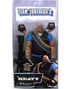 NECA PLAYER SELECT TEAM FORTRESS 2 DX 7インチアクションフィギュア THE HEAVY [TEAM BLU]