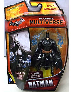 MATTEL DC COMICS MULTIVERSE 4インチアクションフィギュア BATMAN: ARKHAM CITY BATMAN [ARMORED BATSUIT] 台紙破れ特価