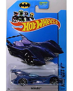 MATTEL HOT WHEELS 1/64スケール 2014 HW CITY BATMOBILE #062