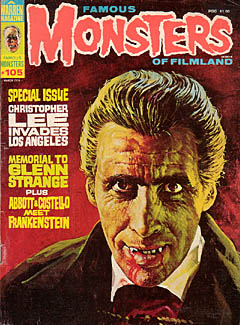 FAMOUS MONSTERS OF FILMLAND #105 特価